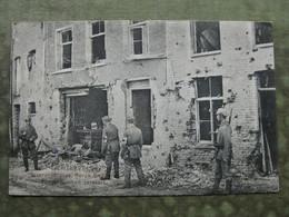LICHTERVELDE - BEVERENSTRASSE - DUITSE KAART 1916 WO I ( Feldpost ) - Lichtervelde