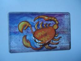 BRAZIL   USED CARDS   ZODIAC - Zodiaco