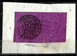 540 - ITALY - PAPAL STATE - 1858 - CANCELLED  - FORGERY - FAUX - FALSO - FALSCH FAKE - Zonder Classificatie