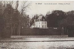 Olivet. Le Chateau Du Poutil Sur Les Bords Du Loiret. - Andere Gemeenten