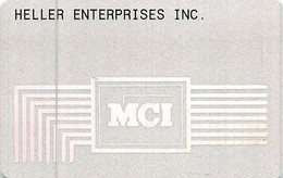 MCI Calling Card - [3] Magnetic Cards