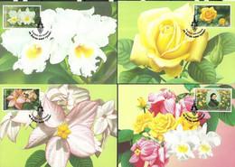 Thailand 2002 Mi 2140-2143  Max Card  (MAX ZS8 THL2140-2143) - Otros