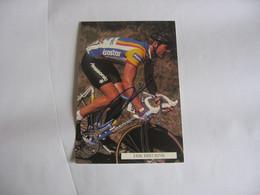 Cyclisme -   Autographe - Carte Signée Erik Breukink - Cycling