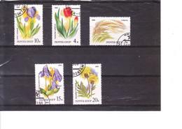 5275/9° Fleurs De La Steppe - Gebruikt