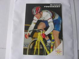 Cyclisme -   Autographe - Carte Signée Arnaud Tournant - Cycling