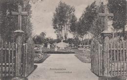 CARTE ALLEMANDE - GUERRE 14-18 - AMIFONTAINE (AISNE) - CIMETIÈRE MILITAIRE ALLEMAND - Oorlog 1914-18