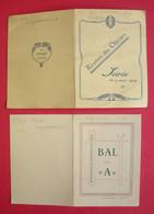 66 Perpignan 1925-1931 Lot 8 Cartes Bal Des Redoutes-des A-Anciens Gradés Officiers Et Sous-Officiers édit Divers - Perpignan