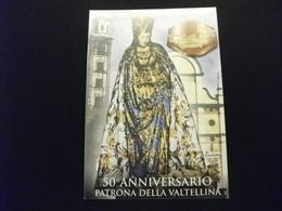 1946 MADONNA DI TIRANO 1996 50° ANNIVERSARIO PATRONA DELLA VALTELLINA  SONDRIO - Vergine Maria E Madonne