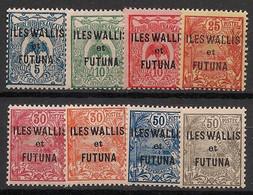 Wallis Et Futuna - 1922-25 - N°Yv. 18 à 25 - Série Complète - Neuf Luxe ** / MNH / Postfrisch - Nuevos