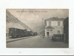 LA BRIGUE (06) GARE TRAIN 68811   BRIGA MARITTIMA (CUNEO) STAZIONE FERROVIARIA - Otros Municipios