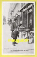 75 PARIS / LES PETITS MÉTIERS À PARIS / LE MARCHAND D'ARTICLES DE CAVE / AU DOS PUBLICITÉ POUR LE PETIT PAIN DE TORTOSA - Artisanry In Paris
