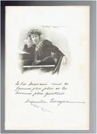 MARCELLE TINAYRE 1870 TULLE 1948 GROSROUVRE ECRIVAIN PORTRAIT AUTOGRAPHE BIOGRAPHIE ALBUM MARIANI - Documenti Storici