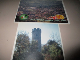 B697   4 Cartoline Villardora Ass.nazionale Alpini - Otras Ciudades