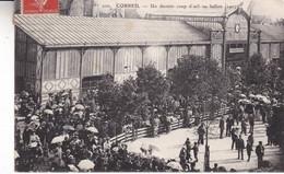 91-CORBEIL UN DERNIER COUP D OEIL AU BALLON 1907 - Corbeil Essonnes