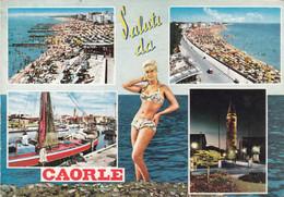 AK - CAORLE - Mit PIN UP Girl - 1966 - Venezia (Venice)