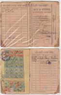 Carte Et Tiquets Rationnement Lot 2 1942 - Non Classés