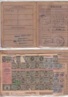 Carte Et Tiquets Rationnement Lot 3 1949 - Non Classés