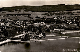 Biel - Bienne, Quai (1028) * 22.. 8. 1942 - BE Berne