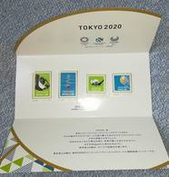 Japan Personal Stamp 2020 Tokyo 4 Values In A Special Folder - Zomer 2020: Tokio