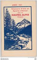 HAUTES ALPES GUIDE SEJOUR D ETE ET SPORTS D HIVER - Alpes - Pays-de-Savoie
