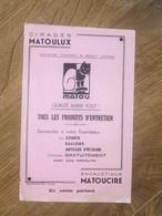 BUVARD MATOU - Produits Ménagers