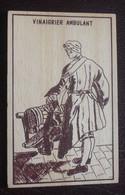 Vinaigrier Ambulant - Carte En Bois - Altri