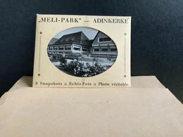 Adinkerke - La Panne Meli Envelopje 8 Zwart Wit Foto - De Panne