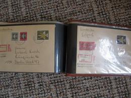 DDR Briefe Letters FDC In Randvollem Album, Gute Qualität - Lettere