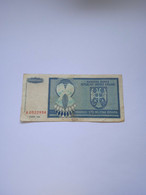 CROAZIA-PR15 100000000D 1993 - - Croacia