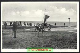 SCHEVENINGEN Aan Het Strand  Ezel 1934   Donkey - Scheveningen