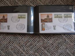 Berlin Bund FRG Germany Belege FDC Letters 1960s To 1990s - Lettere