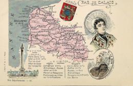 62*Pas De Calais* - Nos Départements - A Visiter Arras, Calais, Boulogne - V. Le Bon  - Lot 5 CPA (voir Scan) - Zonder Classificatie