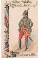 Chocolat Louit Hussards Chasseurs De Fischer  1749 - Louit