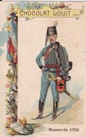 Chocolat Louit Hussards 1752 - Louit
