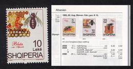 Albania Bees Apiculture 10 Leke ERROR 1995 MNH SG#2600var MI#2559II CV€17.- - Albanie