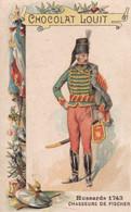 Chocolat Louit Hussards Chasseurs De Fischer 1743 - Louit