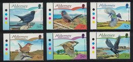 Alderney Blackbird Wren Tit Sparrow Birds Passerines 6v TL 2007 MNH SG#A316-A321 SC#297-302 CV£7.- - Alderney