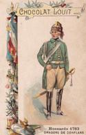 Chocolat Louit Hussards  Dragons De Conflans  1763 - Louit