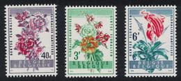 Belgium Ghent Flower Show 3v 1960 MNH SG#1713-1715 - Unused Stamps