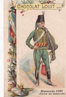 Chocolat Louit Hussards  Légion De Conflans  1767 - Louit
