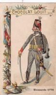 Chocolat Louit Hussards  1776 - Louit