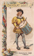 Chocolat Louit Infanterie 1420 Tambour - Louit