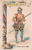 Chocolat Louit Infanterie 1590 - Louit