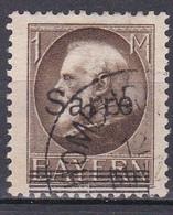 Saargebiet 1920 - Mi.Nr. 27 - Gestempelt Used - Used Stamps