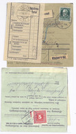 Bayern Österreich 1918, Immenstadt Paketkarte M. 60 Pf. U. Porto Frastanz. #892 - Bavaria