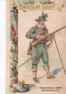 Chocolat Louit Infanterie 1635 Mousquetaire - Louit