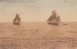 483493Nieuwediep, Vertrekkende Loodskotters. 1905. (rechtsonder Een Vouwtje Zie Achterkant) - Den Helder
