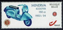 Belgie 2021 - Minerva - Scooter - Roller - OBP 4183a - Motorfietsen