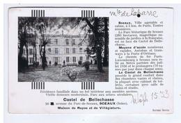 HAUTS De SEINE - SCEAUX - Castel De BELLECHASSE - Maison De Repos Et Villégiature - Sonstige