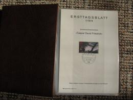 4 Alben ETB Bund FRG 1974 - 1982 Komplett + Bonus - FDC: Fogli